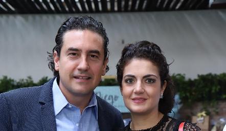 Alejandro Oropeza y Ana Sofía Velázquez.