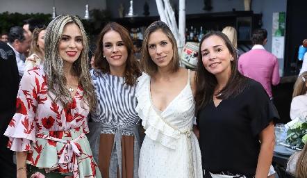 Elizabeth Berrones, María Sotomayor, Begoña Martínez y Ana Rosa Guerra.