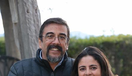 Gerardo Galván y Rocío Ortuño de Galván.