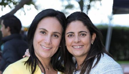 Marcela de la Maza y Rocío Ortuño.
