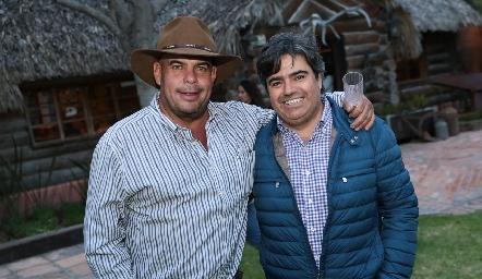 Jaime Ascanio y Paco Leos.