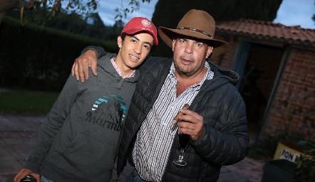 Joaquín Gómez y Jaime Ascanio.