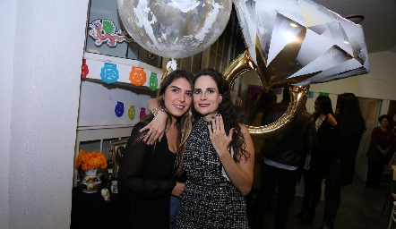 Mayra Díaz de León y Jessica Medlich.