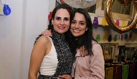 Jessica Medlich y Katya Gómez.