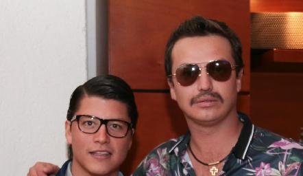 Santiago González y Fran Villanueva.