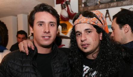 José María Díaz Infante y Agustín Soberón.