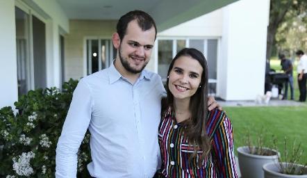 Elías Abud y Sofía Torre.
