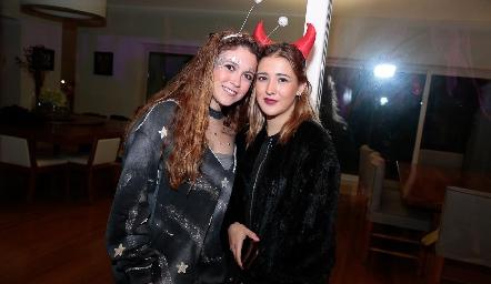 María Emilia Torre y Laura Pelayo.