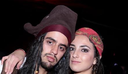 Diego Zepeda y Ana Martha Oacaña.