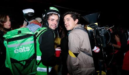 Marcelo Navarro y Daniel Villarreal.