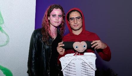 María Benavente y Pablo Ortiz.