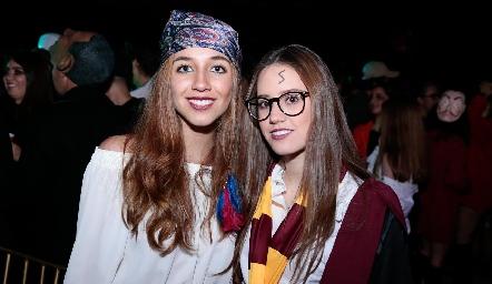 Priscila Martínez y Nuria Manzo.