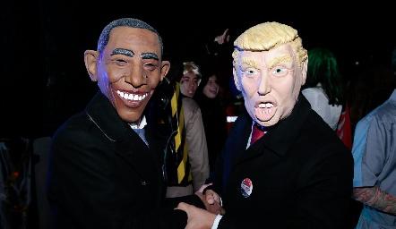 Obama y Trump.