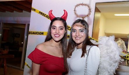 Mónica y Paulina Varela.