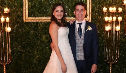 Andrea Schekaibán y Mario Orgaz Ya son esposos.