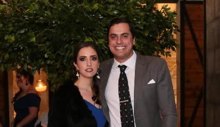 Daniela Castro y Omar Díaz.
