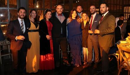 En la boda de Mario Orgaz y Andrea Schekaibán.