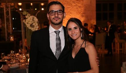 José Eduardo Schekaibán y Ana Foyo.