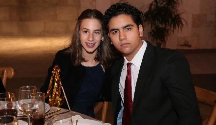 Lorena Vega y Oscar Mendoza .