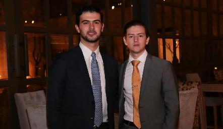 Mauricio Pérez y Patricio del Pozo.