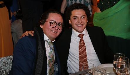 Esteba Pruneda y Humberto Sáenz.