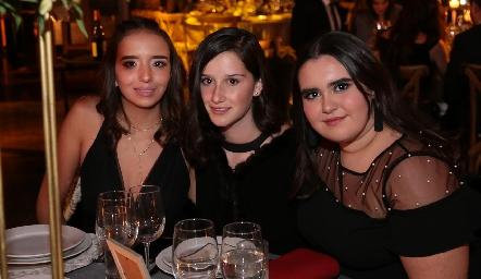 Ana Paula Sánchez, Melissa Elizondo y Martita Payan