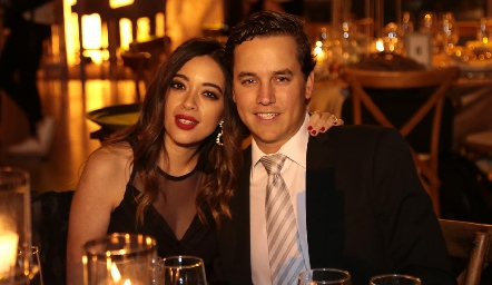Daniela y José González.