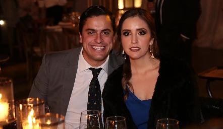 Omar Díaz y Daniela Castro.