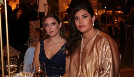 Alejandra Arellano y Aranza Herrera.