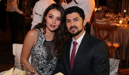 Fernanda Zepeda y Miguel Martínez.
