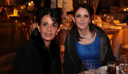 Maru Aranda y Carolina César.