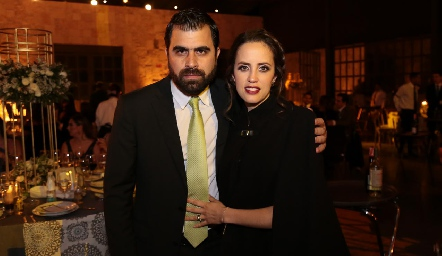 Jorge Hervert y Andrea Boelsterly.