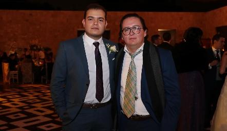 Mauricio Schekaibán y Esteban Pruneda.