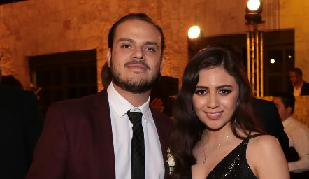Jorge Schekaibán y Daniela Morales.