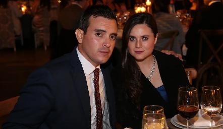 Jorge Ricavar y Marisol Gómez.
