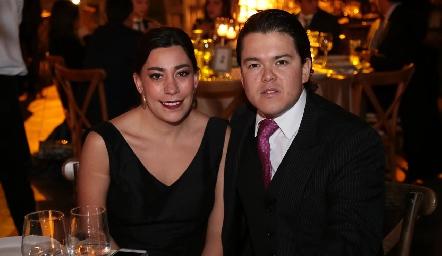 Jimena Torres y César Contreras.