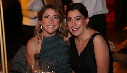 Montse Elizondo y Jimena Torres.