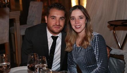 Manuel González y Sofía Guevara.