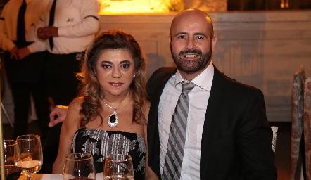 Claudia Abud y Juan Manuel Gouyonnet.