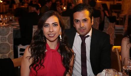 Ana Bocard y Carlos Ramírez.