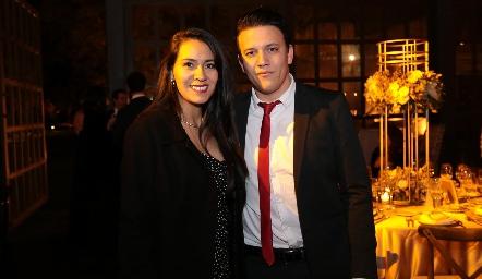 Giselle Zavala y Diego Borges.