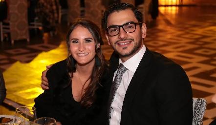 Ana Foyo y José Eduardo Schekaibán.
