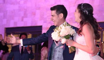 Boda de Mario Orgaz y Andrea Schekaibán.