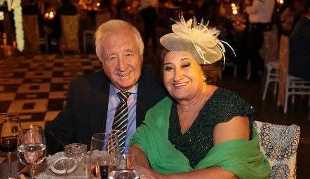 Fernando Moreno y Carmen Ortega.