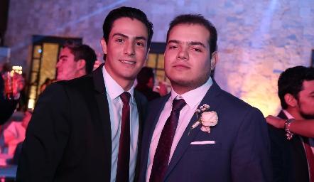 Juan Carlos Castillo y Mauricio Schekaibán.