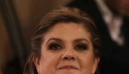 Beatriz Franco de Schekaibán, mamá de la novia.