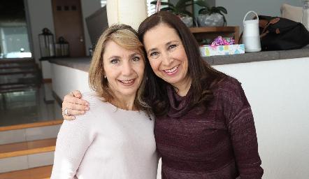 Celina Conde y Vero Pérez.