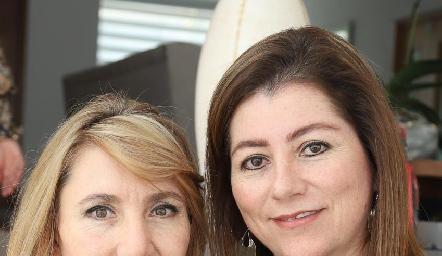 Celina Conde y Cristina Pérez.
