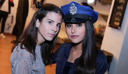 Camila Fajardo y Aranza Pumar.