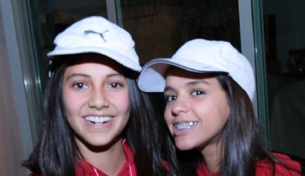 Ana Pau Tirado y Paola De la Garza.